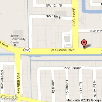 6073 W Sunrise Blvd Sunrise, FL 33313